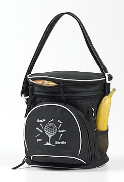 BALL AND TEE DESIGN  12 PACK COOLER