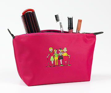 FOURSOME GOLFERS COSMETIC BAG