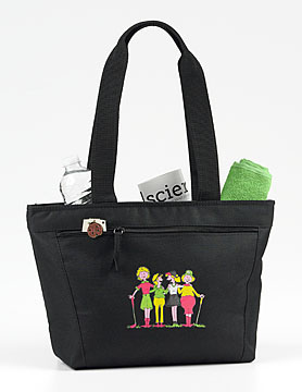 FORESOME GOLFERS INSULATED TOTE